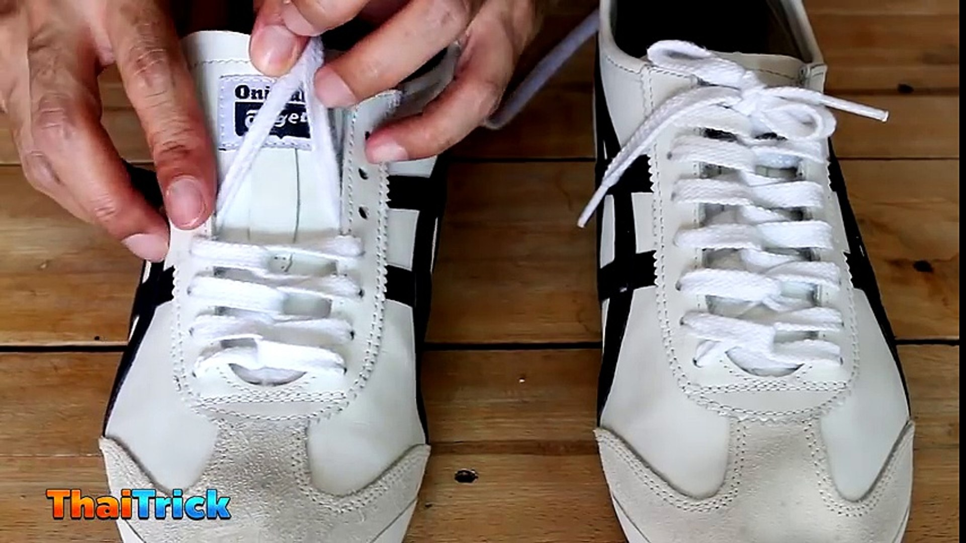 How To CHAIN LACE Shoes.