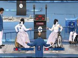 Women's Wheelchair Fencing individual B gold medal match at the Beijing 2008 Paralympic Games