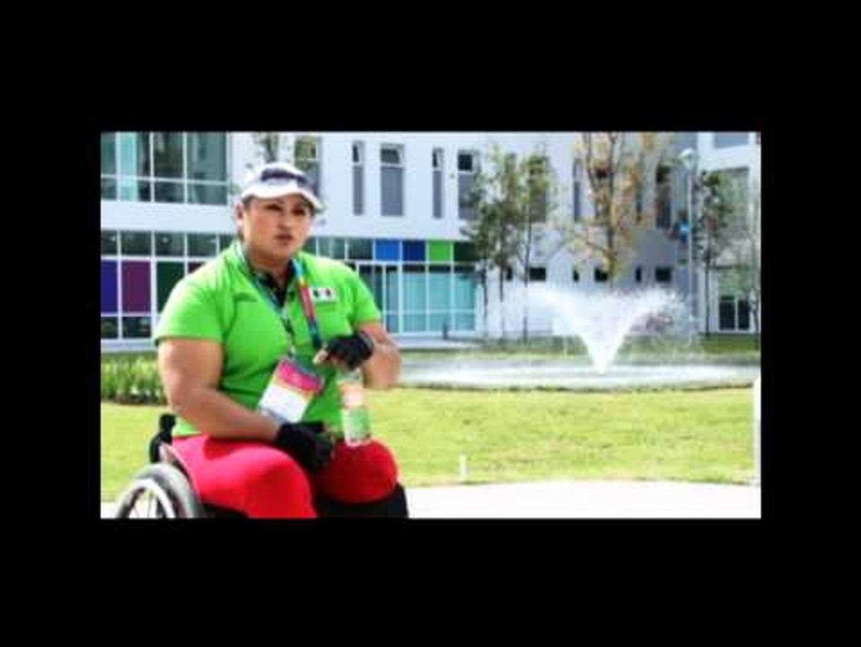 Angeles Ortiz (Mexico) interview at 2011 Parapan American Games inGuadalajara, Mexico
