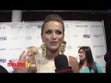 Shantel VanSanten Exclusive Interview at Drawing Hope Int'l Masquerade Gala