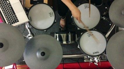 通靈少女 - 李千娜 - 不曾回來過 drum cover