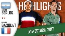 Carlos BERLOCQ vs Richard GASQUET HD720p60 Highlights ATP 250 Estoril 2017