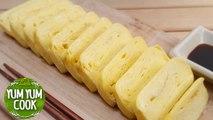 Tamagoyaki Tamago Sushi Nigiri | Japanese Omelette | How to Make Tamagoyaki at Home