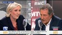 Marine Le Pen explique pourquoi Mediapart est interdit des meetings du Front national