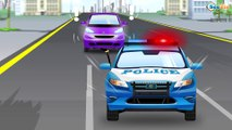 Emergency Vehicles - The Yellow Tow Truck helps Cars Frinds - Cars & Trucks Cartoons for Children