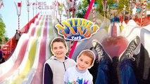 VLOG - TOBOGGANS GÉANTS & ATTRACTIONS à ANTIBES LAND ! - Le Grand Parc d'Attractions du Sud