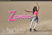Zumba Dance Video - Cheap Thrils SIA - Latin Dance Fitness For Beginner Step By Step
