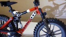 Lego Technic Specialized Safire Mountain Bike Model - MTB bicycle - building instructions-KYF1HOBDPlA