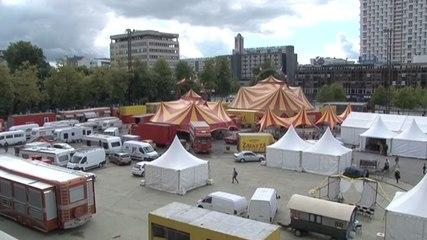 3e festival des Français itinérants à Rennes esplanade Charles de Gaulle septembre 2015