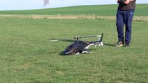 BIG RC BELL-222 AIRWOLF ROBAN 600 SIZE WITH SOUND MODULE _