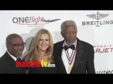 Morgan Freeman at Living Legends of Aviation Awards 2012 Arrivals