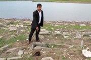 Sular Çekildi, Defineciler Mezarları Talan Etti