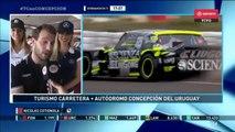 ACTC (TC) 2017. FP Autódromo de Concepción del Uruguay. Mauro Giallombardo Crash