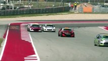 Pirelli World Challenge (TC/TCA/TCB) 2016. Race 2 Circuit of the Americas. Epic Finish