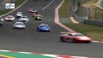 G&H Transport Extreme Supercars 2016. Race 2 Kyalami Grand Prix Circuit. Crash