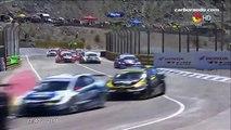 Súper TC 2000 2016. Final Autódromo Eduardo Copello. José Manuel Urcera & Agustín Canapino Crash