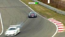 Porsche GT3 Cup Challenge Benelux 2016. Race 2 Circuit Park Zandvoort. Yves Noel & Hans Fabri Crash