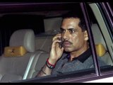 Vadra hits out at Center on Airport Frisking