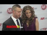 Jenna Haze and Greg Puciato at 2012 AVN AWARDS Show Red Carpet Arrivals