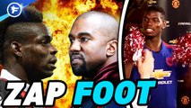 Zap foot : Pogba piégé par ses coéquipiers, CR7 chambré par sa famille