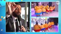 TPMP : Les chroniqueurs, déguisés en sumo, font une course en plein Paris