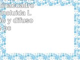 Faro Barcelona Klimt 61049  Iluminacuadro bombilla incluida LED aluminio y difusor de