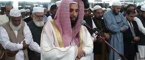 Imam-e-Kaaba Sheikh Dr. Mohammad Saleh Bin Ibrahim fajar prayer in jamaat-e-Islamic of Mansoora Lahore Pakistan