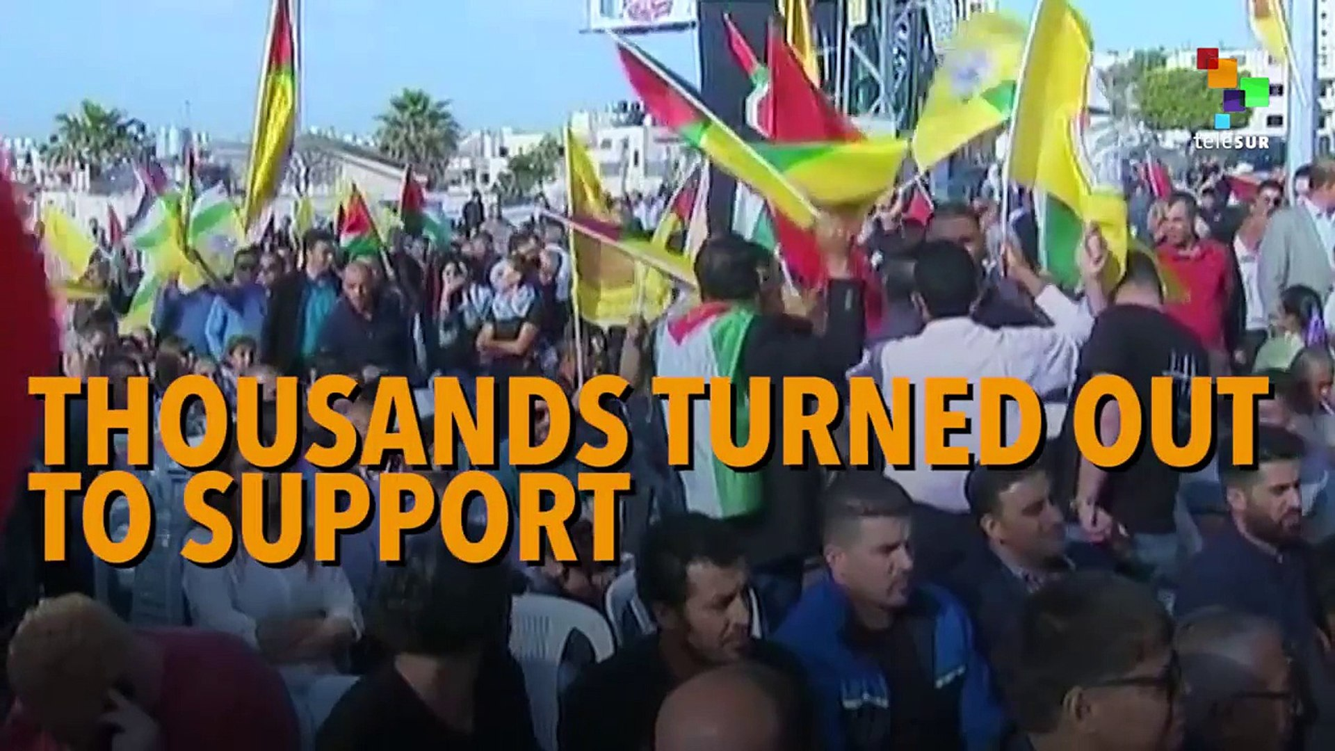 Palestinian Hunger Strike Sharpens As Trump Hosts Abbas