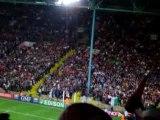 Hymne italien rugby Ecosse - Italie à Saint-Etienne