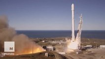 SpaceX's most recent rocket landing looks so sci-fi in new photos