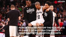 Spurs' Tony Parker expected to miss the rest of the playoffs