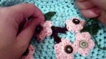 How to Crochet Cherry Blossom Beanie