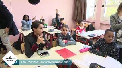 Lancement de la 2e journée « Non au harcèlement » - Chronique Hebdo N°98