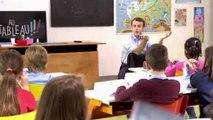 Mozinor détourne le passage d'Emmanuel Macron dans l'émission « Présidentielle : Candidats au tableau ! »