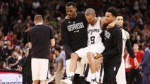 Tony Parker Gets CARRIED Off the Court After Quad Injury, Are the Spurs DONE?
