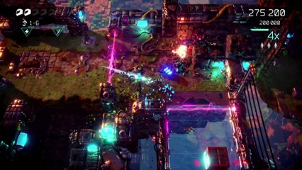 Nex Machina Gameplay   PlayStation Underground de Nex Machina
