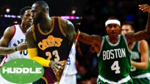 DeMar DeRozan Puts A HIT Out on LeBron James | Is Isaiah Thomas Under-Appreciated? -The Huddle