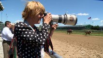 Kentucky Derby photographer stands out from the pack