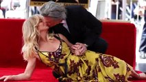 Goldie Hawn and Kurt Russell get their Hollywood stars together