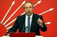 CHP'li Muharrem İnce: Derhal Seçimli Olağanüstü Kurultay Yapılmalı