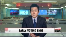 Second day of early voting period ends, hitting record high early voting turnout