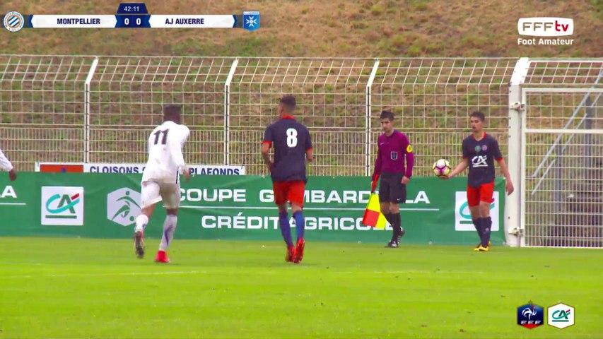 30/04/2017 à 17h05 - Demi-Finales Coupe Gambardella Crédit Agricole - Montpellier HSC - AJ Auxerre
