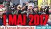 1 mai 2017 avec JL Mélenchon et la France insoumise