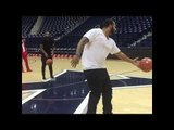 Adrien Broner sinks half court shot like Steph Curry - esnews boxing