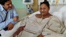 """La """"plus grosse femme du monde"""" transférée à Abou Dhabi"""