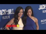 """Kellie Cockrell and Katie Cockrell at """"Jack and Jill"""" Premiere Red Carpet ARRIVALS"""