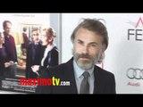 """Christoph Waltz AFI FEST """"Carnage"""" Gala Screening Red Carpet"""