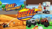Blaze And The Monster Machines ( Cake-tastrophe ) Episode 10 Compilation
