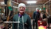Catherine Cavarait, vétérinaire, accompagne des élevages dans la réduction des antibiotiques