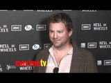 """Patrick Gilmore at """"Hell on Wheels"""" Premiere Arrivals"""